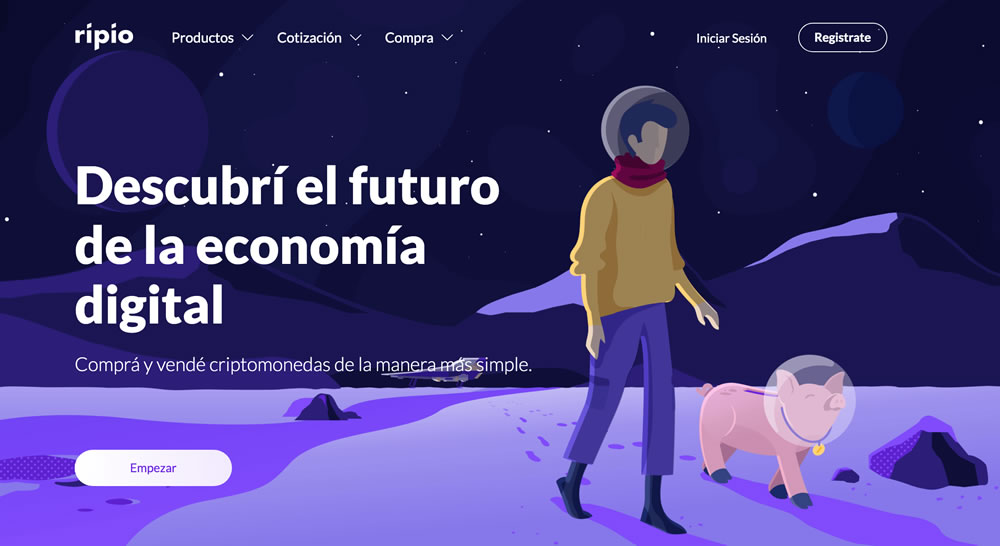 Billetera virtual en Ripio
