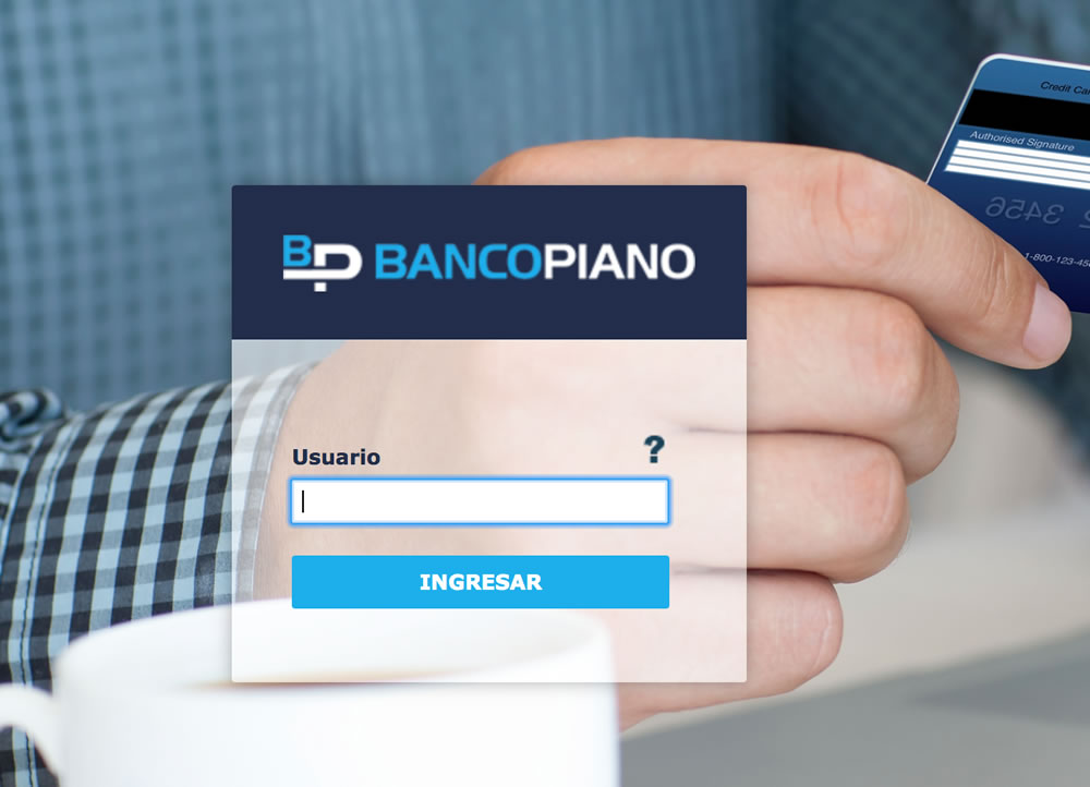 Homebanking Piano