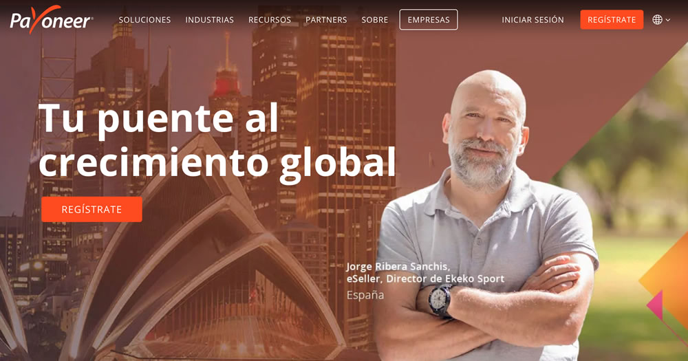 Plataforma Payoneer online