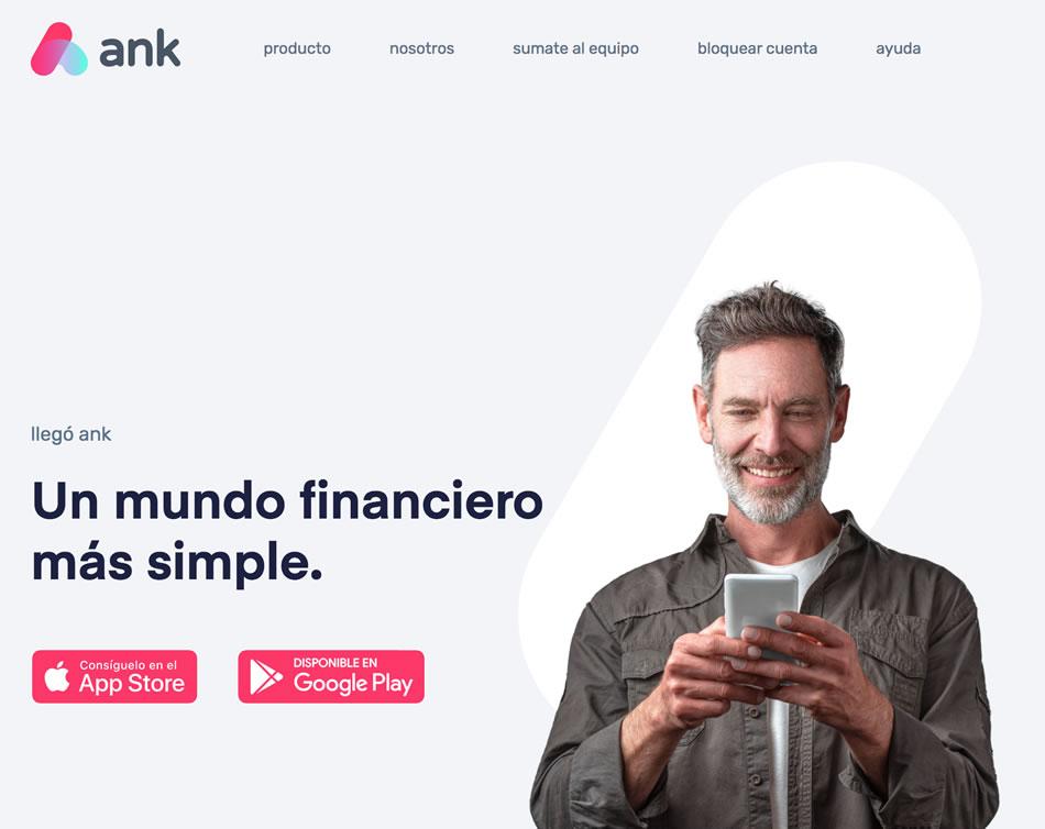 Cómo es la app ANK
